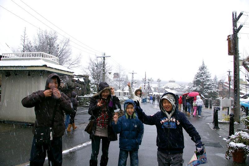 大阪。京都。奈良。神戶+下雪的環球影城