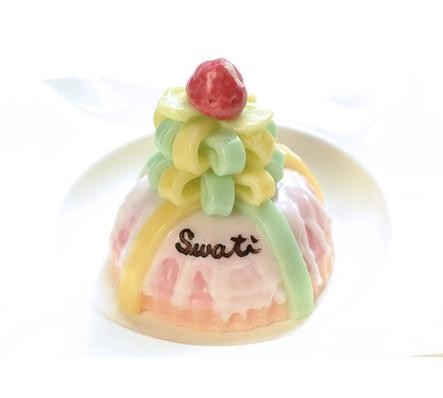 SWATi 草莓甜心蛋糕造型蠟燭