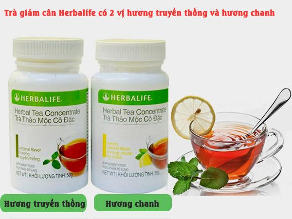 Có nên dùng Trà giảm cân Herbalife Tea ConcentrateTâm an Gifts