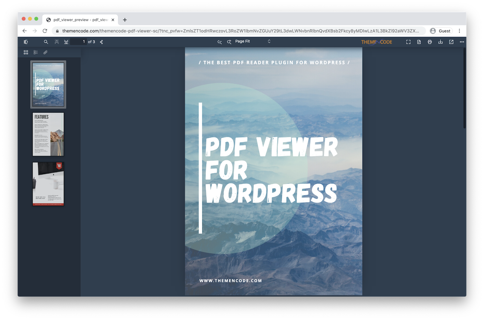 PDF viewer for wordpress download