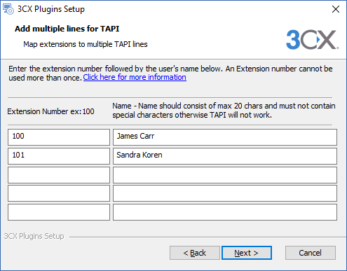How to install the 3CX Multi Line TAPI
