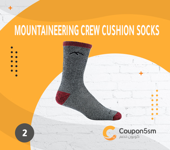 Mountaineering Crew Extra Cushion Socks