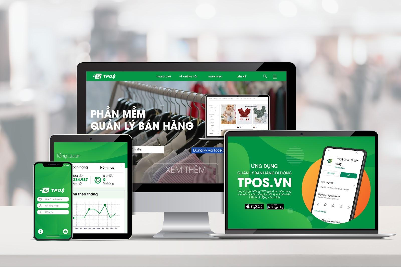 Phần mềm quản lý bán hàng TPOS