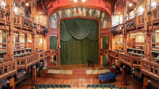 Performing arts hall