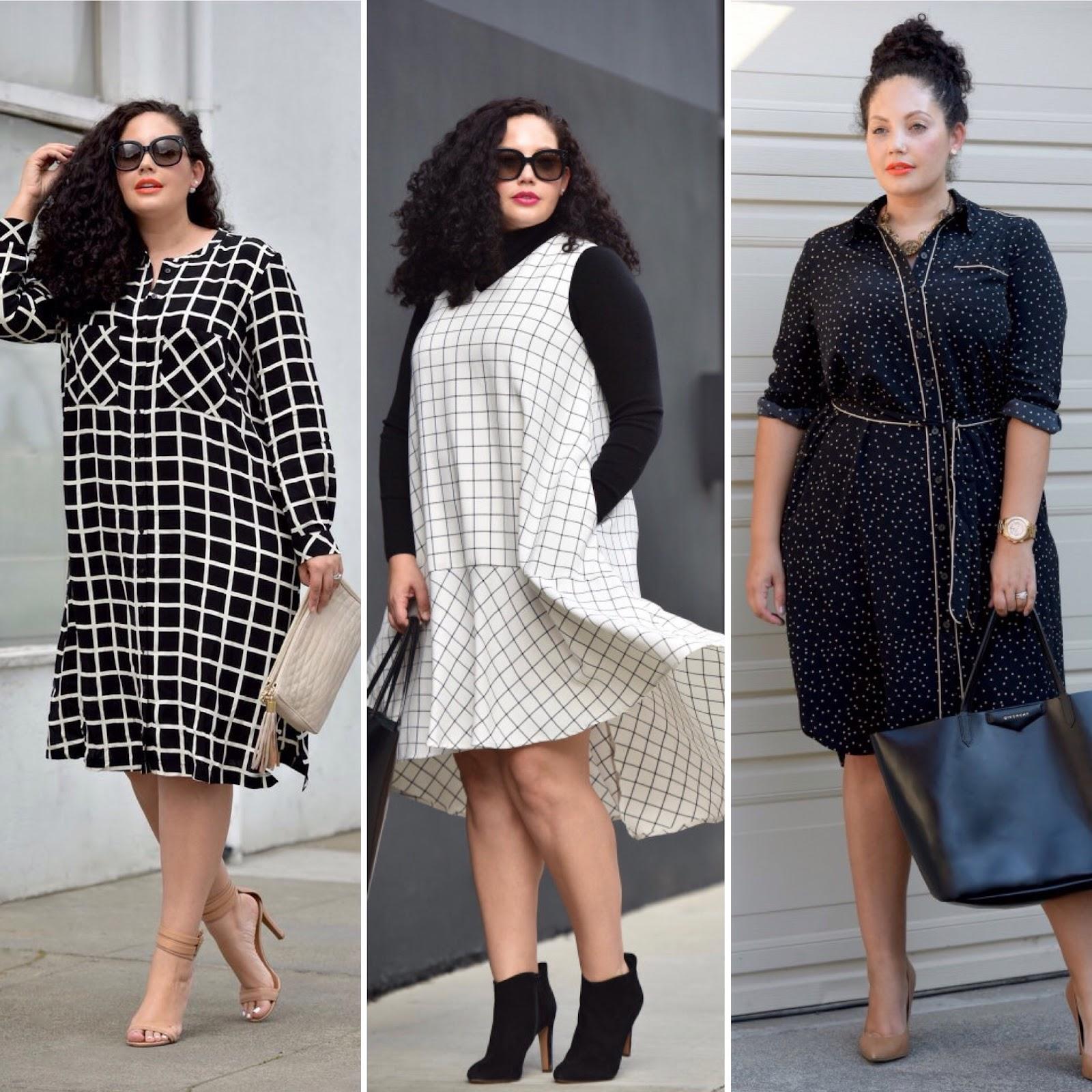 модная одежда больших размеров
