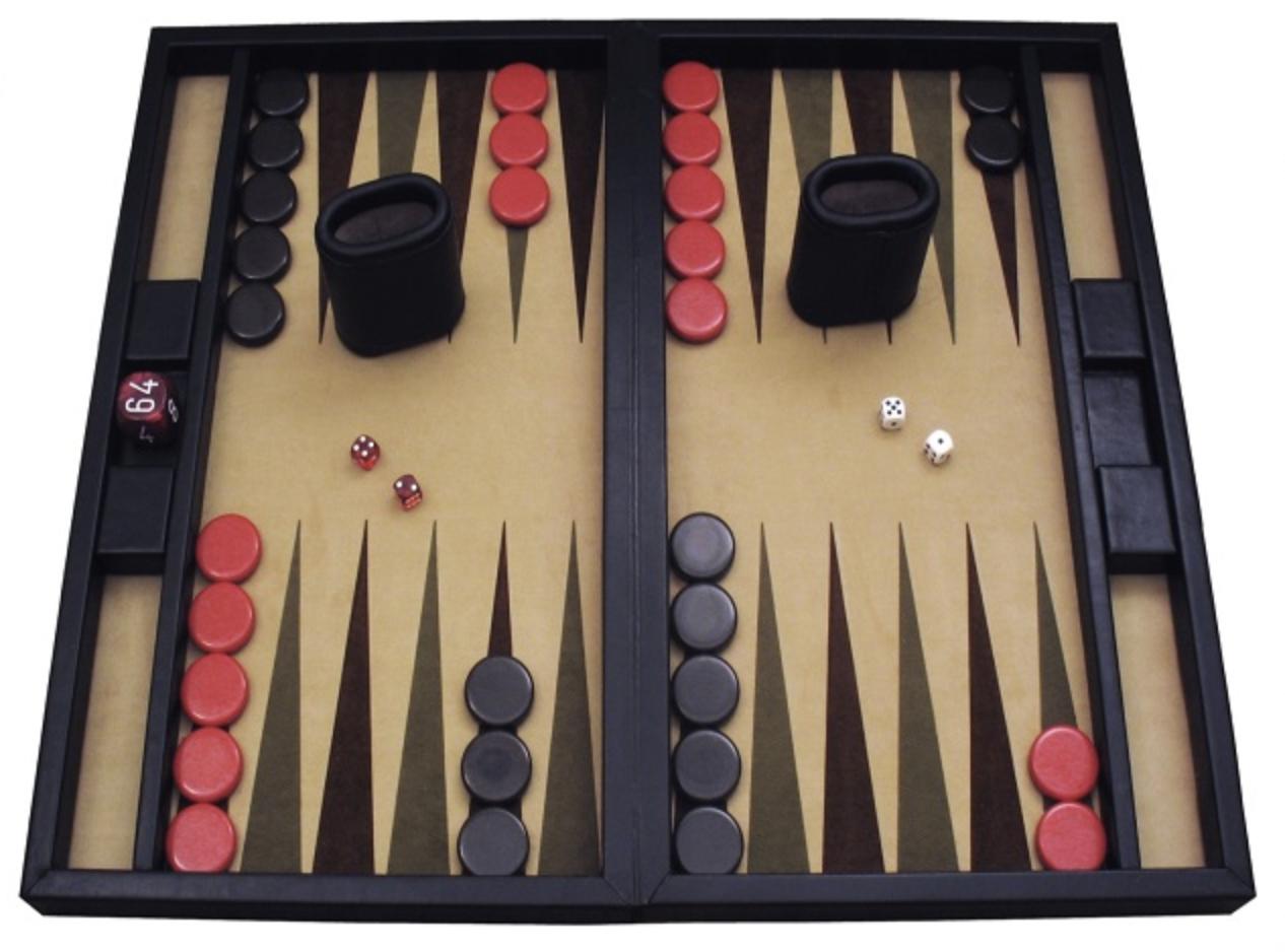 Backgammon với luật chơi đơn giản