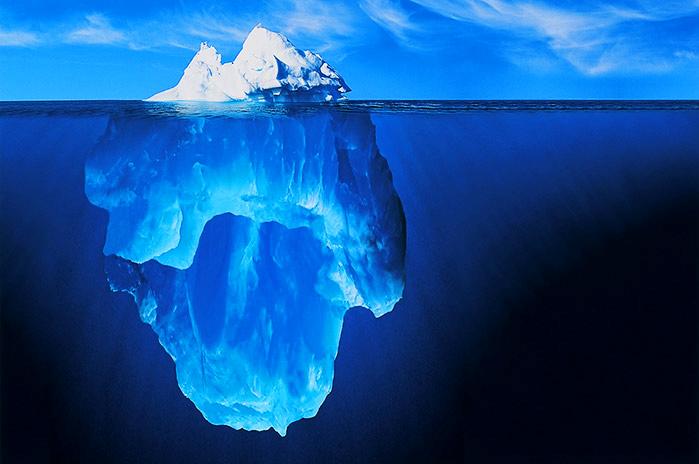 Les icebergs | Espace des sciences