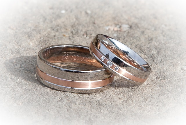 contemporary wedding bands - The Wedding Ring