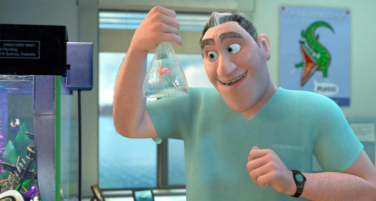 Dr. Sherman and Nemo