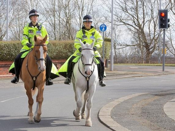GMP's Mounted Unit's Safer Pass Initiative, in partnership with The British Horse Society, saw 21 cars stopped for passing a horse too closely