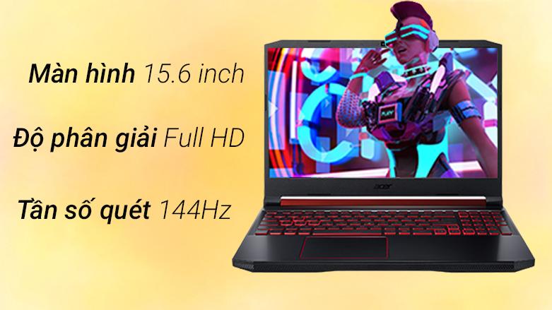 Laptop ACER Nitro 5 AN515-56-51N4 (NH.QBZSV.002)   Độ phân giải Full HD