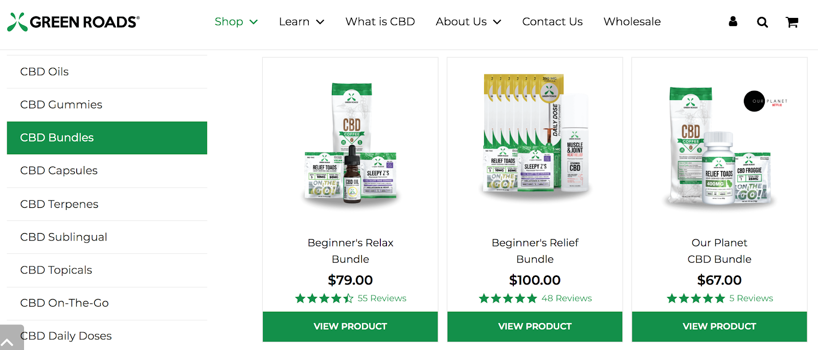green roads cbd bundle deals