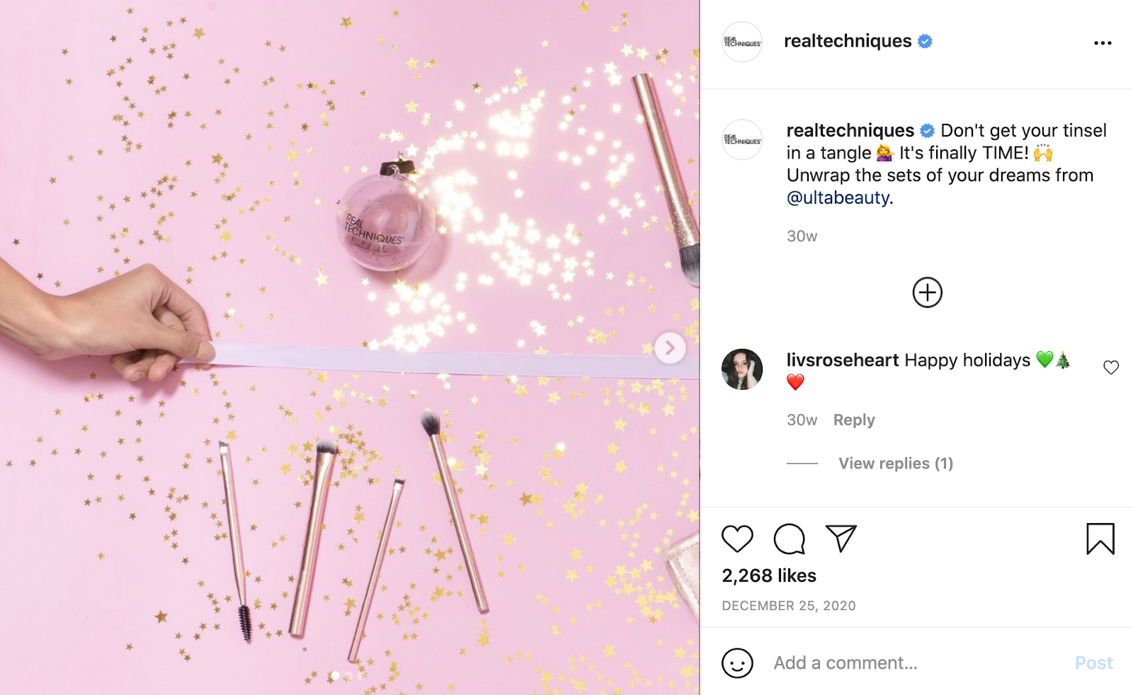 instagram holiday campaign examples
