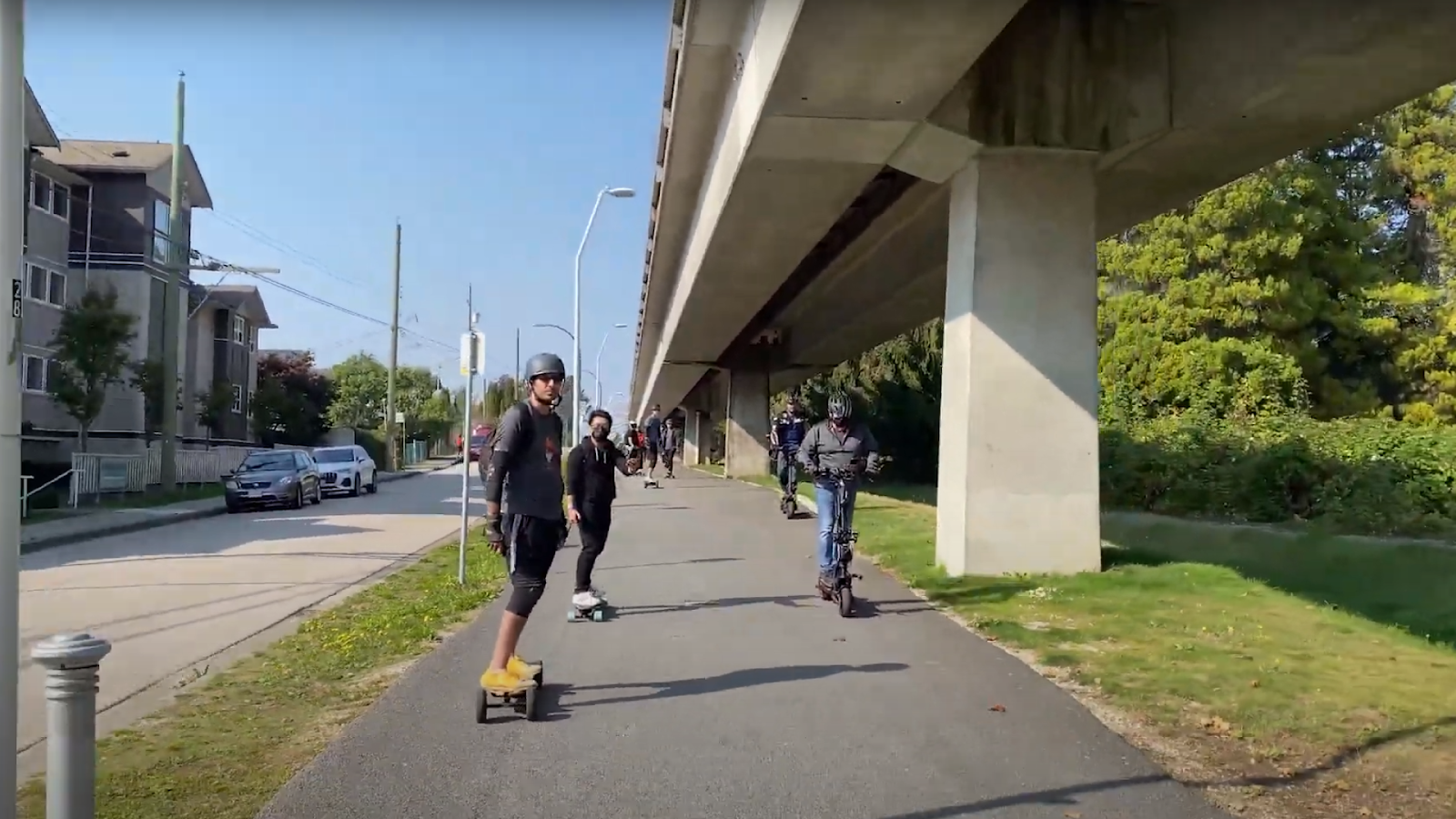 Places to ride in Vancouver.