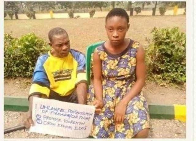 Secondary school Girl caught With Gun Speaks;