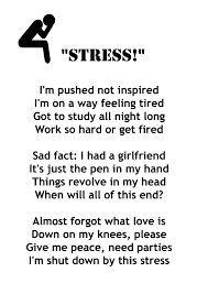 Poems about stress