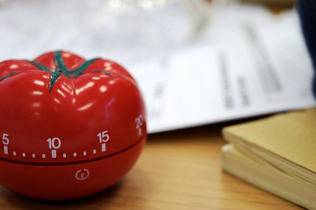 Pomodoro reloj o timer