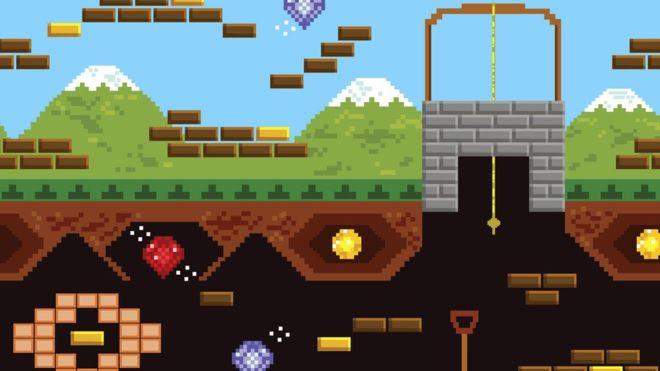 В старых видеоиграх лабиринты были весьма распространенным и популярным элементом