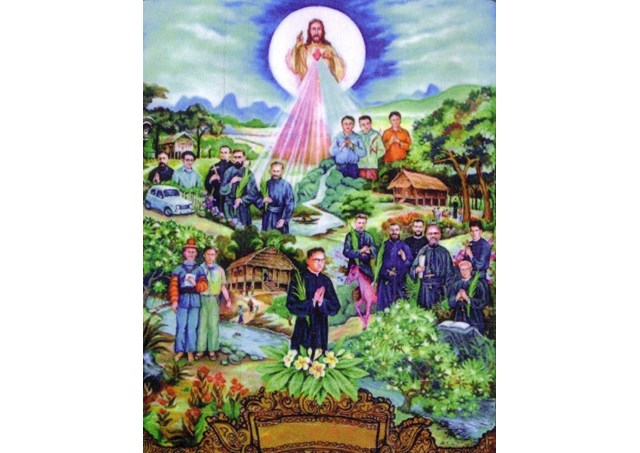 Joseph Tien and his 16 companions‎ who were martyred in Laos - RV