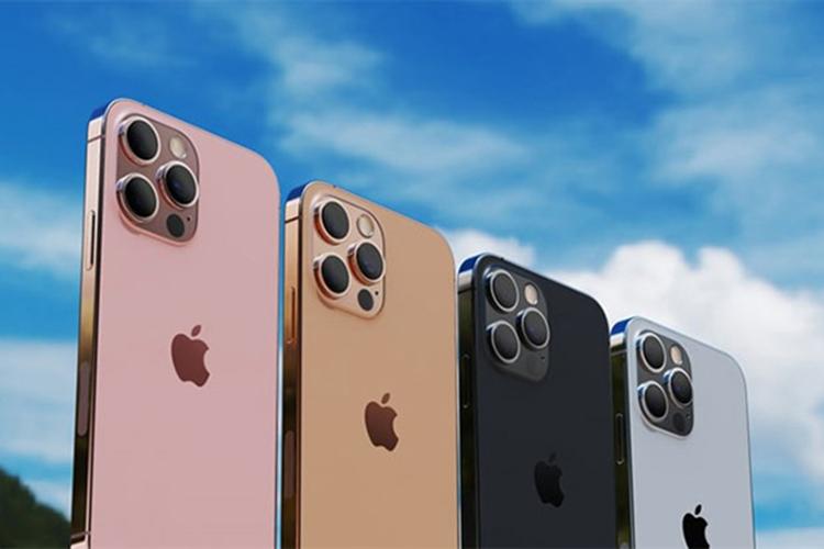 iPhone 13 Pro Max với 4 tùy chọn màu sắc