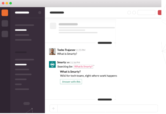 Smarty Slack integration