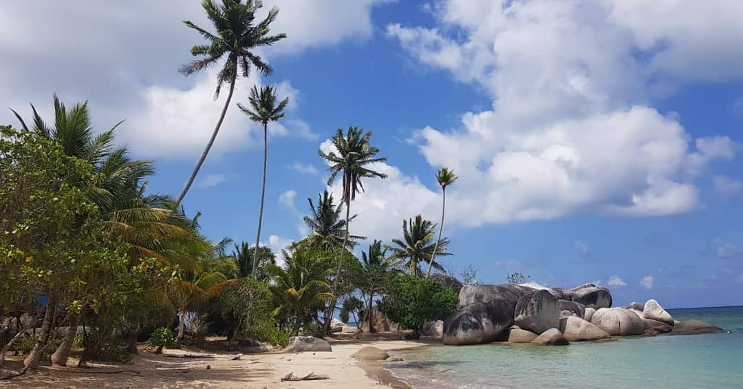 batu kasah beach Natuna Island