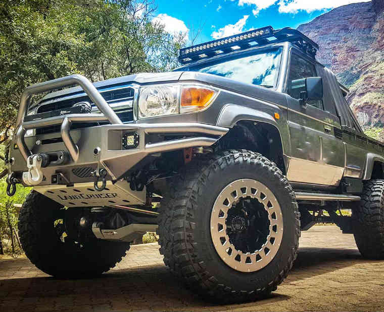 Rear & Bull Bars: Essential 4x4 Accessories for Off Roading