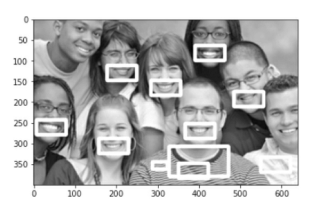 groups image smile detecting