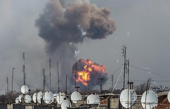 У березні 2017-го палали склади боєприпасів у Балаклії на Харківщині