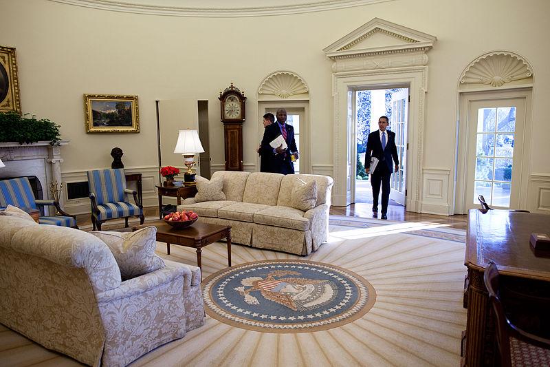 Obama's carpet