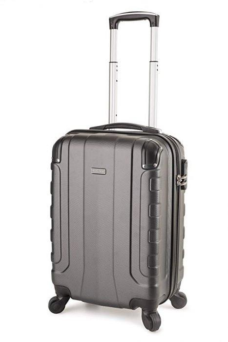 "TravelCross Chicago 20"" Carry-On Lightweight Hardshell Spinner Luggage"