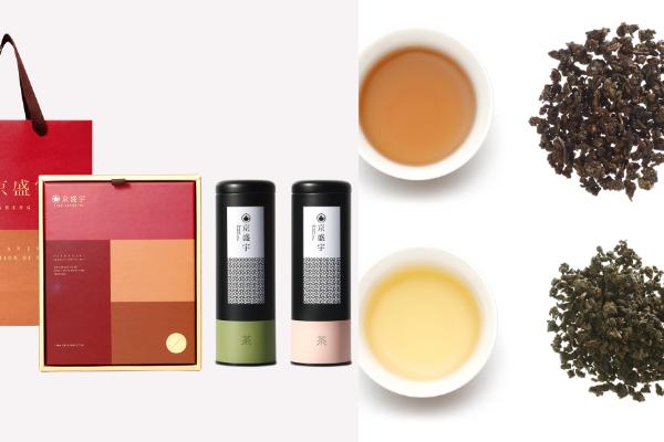 2021過年禮盒 茶葉禮盒推薦 紅茶禮盒 烏龍茶禮盒 送長輩禮物 送禮 企業送禮 京盛宇