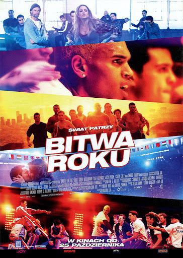 Przód ulotki filmu 'Bitwa Roku'