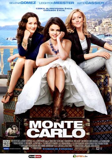 Przód ulotki filmu 'Monte Carlo'