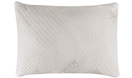 Image result for snuggle pedic ultra luxury bamboo shredded memory foam pillow