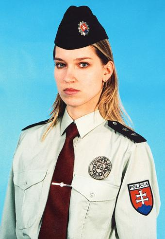 The most beautiful police girls from Slovenia