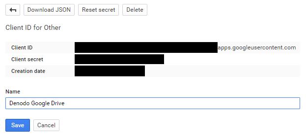 How To Integrate the Google Drive API in Denodo