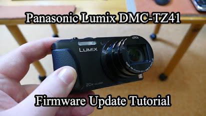Panasonic dmc-tz40 firmware.