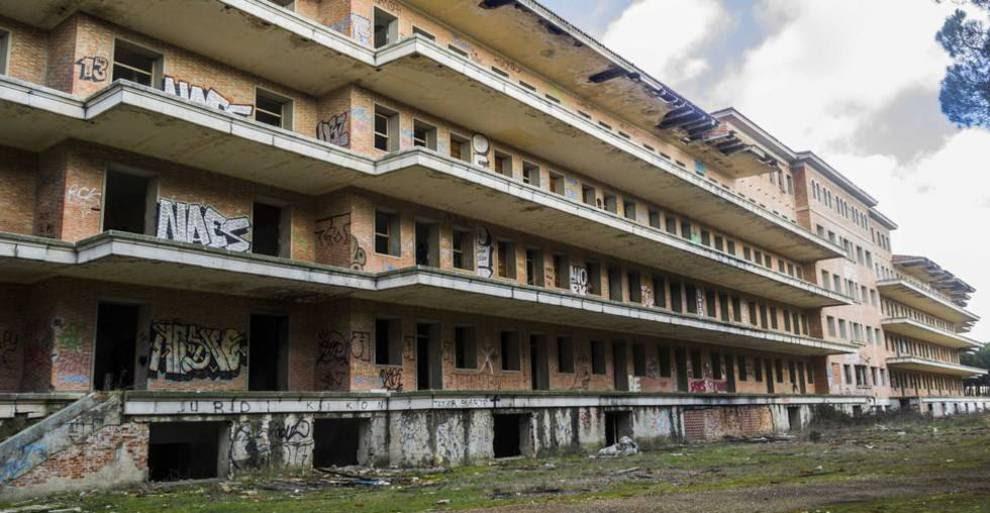 Sanatorio de Viana en Boecillo