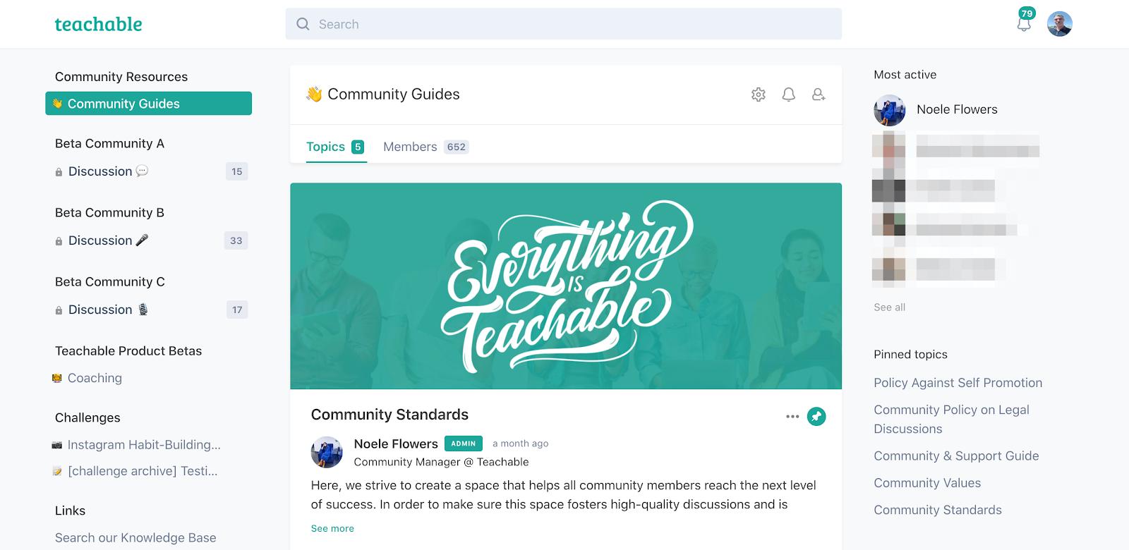 teach:ableのクリエイター向けコミュニティ参考: