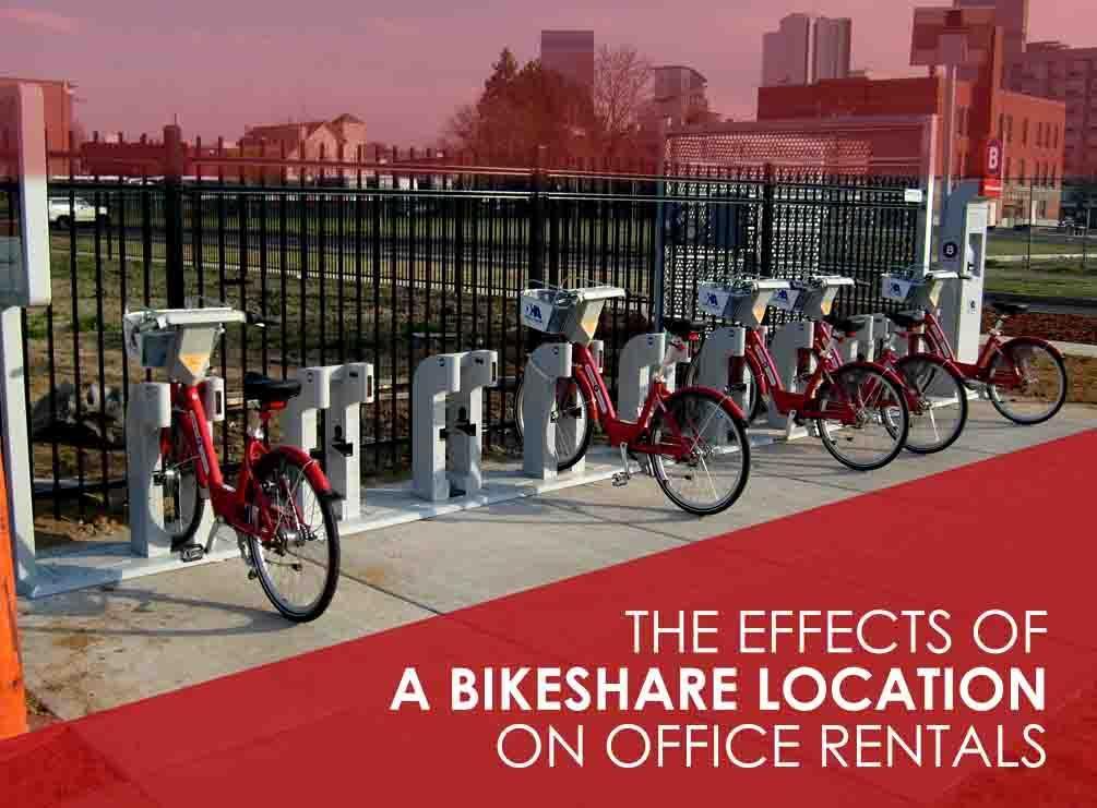 Bikeshare Location on Office Rentals