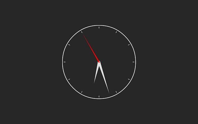 Clock chrome extension