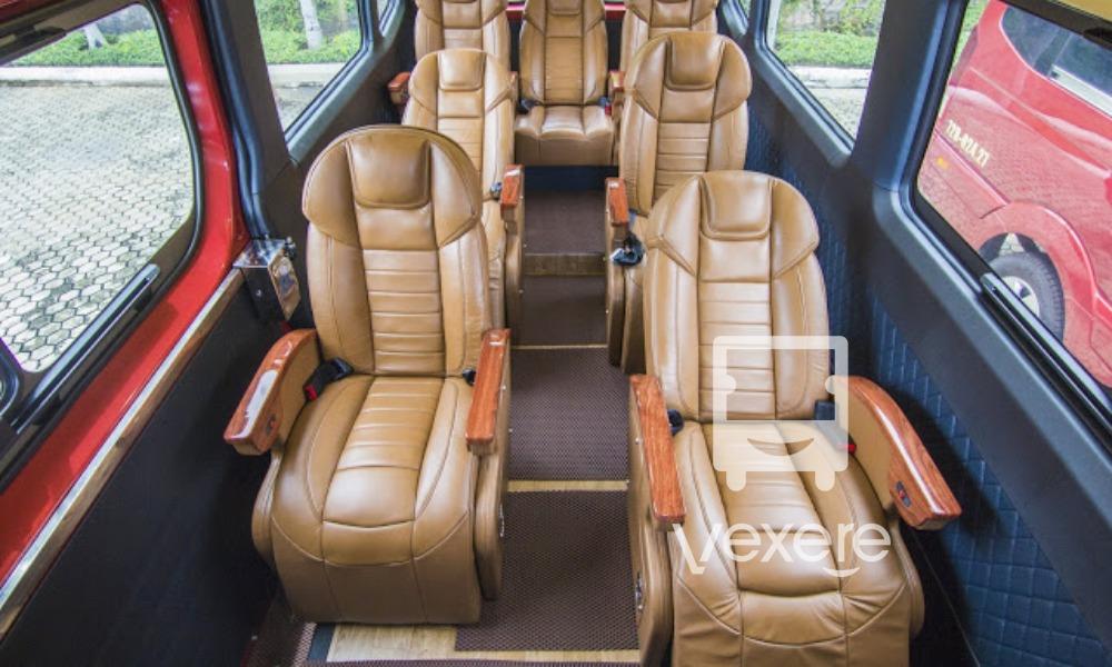 Xe Limousine Phát Lộc An đi Vũng Tàu
