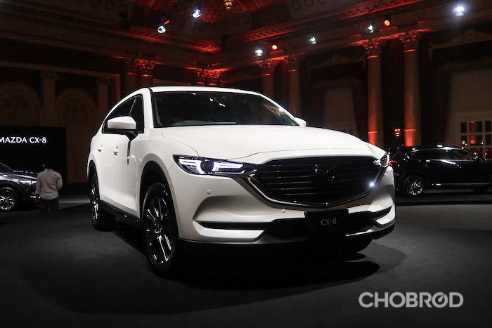 Mazda CX-8 ยนตรกรรมสุดหรู ตัวเด็ดของค่ายที่พร้อมมาโชว์ในงานนี้