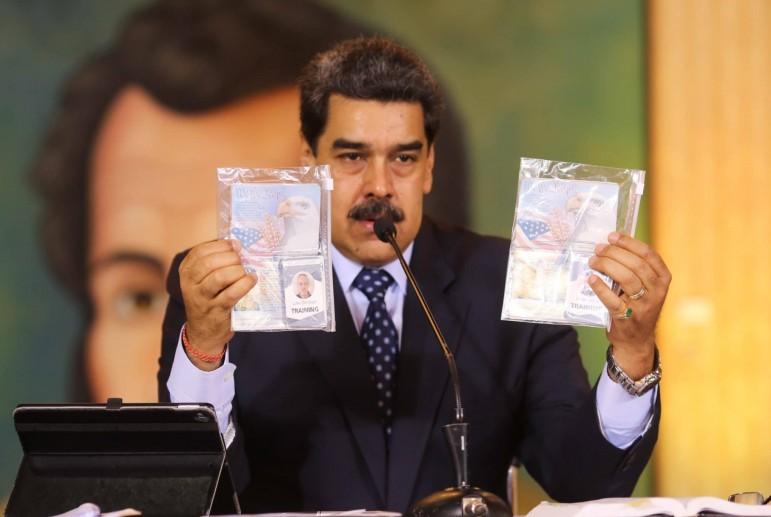Российский след в  венесуэльском перевороте или Как доверчивый ветеран подставил Трампа