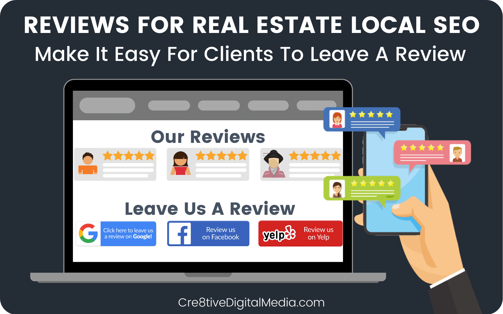 Reviews For Real Estate Local SEO
