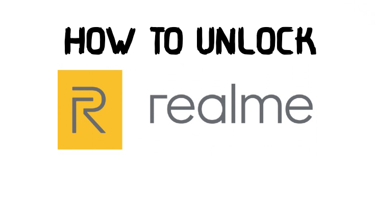 unlock realme mobile