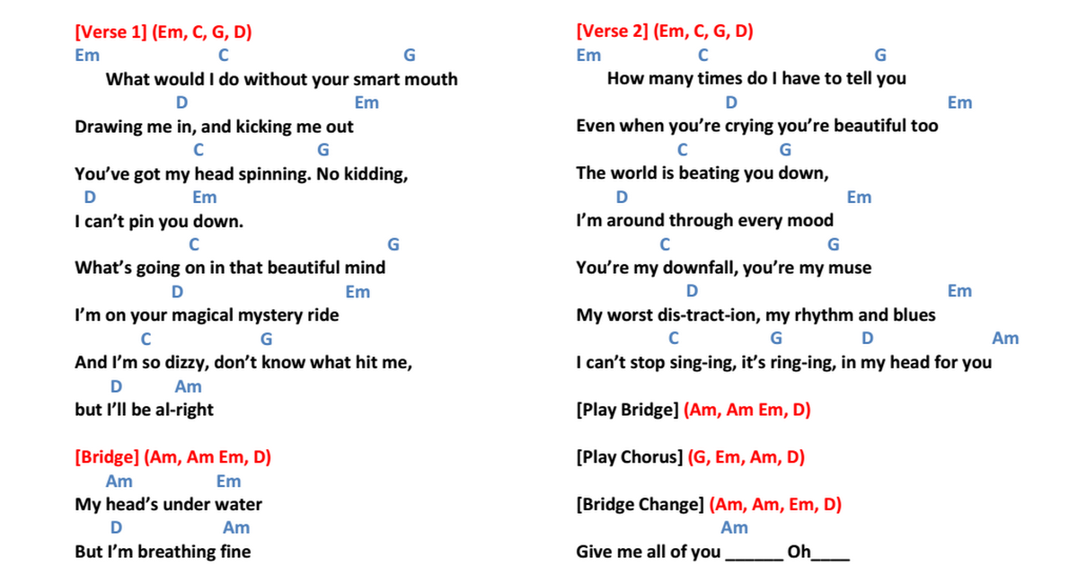 all of me chords - 1200×630