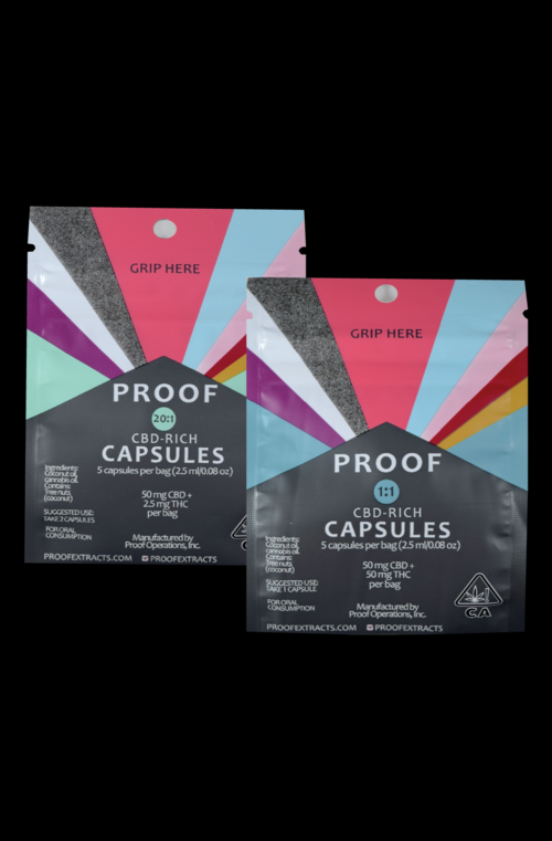 Proof Extract Capsules, CBD Rich