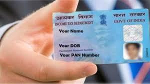 PAN India card
